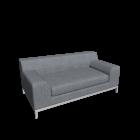 KRAMFORS 2er Sofa für die 3D Raumplanung