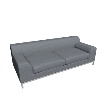 kramfors 3er sofa design and decorate your room in 3d. Black Bedroom Furniture Sets. Home Design Ideas