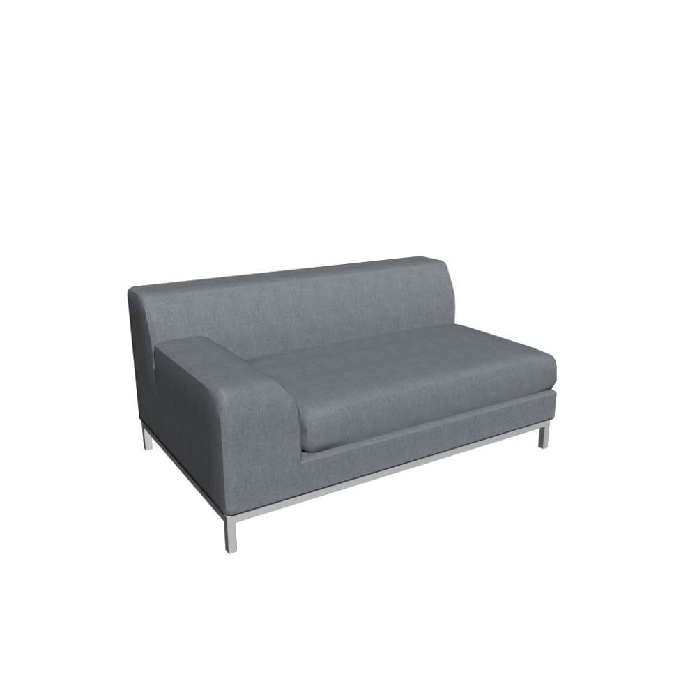 kramfors 2er sofa left design and decorate your room in 3d. Black Bedroom Furniture Sets. Home Design Ideas