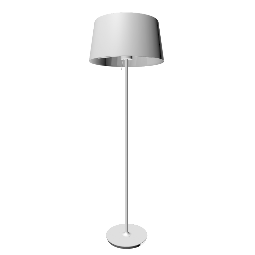 Ikea kulla floor lamp white for 1 floor