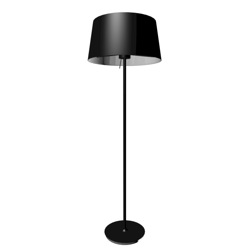 Kulla floor lamp design and decorate your room in 3d - Chaise plastique transparent ikea ...