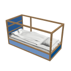 KURA Reversible bed by IKEA
