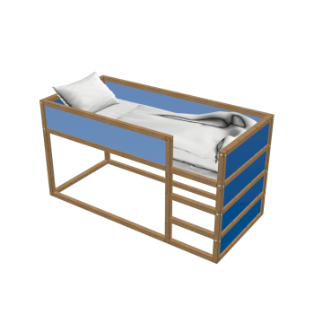 KURA Umbaufähiges Bett von IKEA