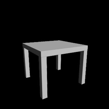 LACK Beistelltisch von IKEA