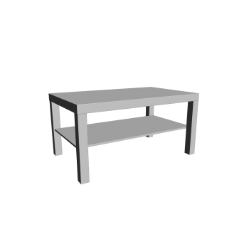LACK Couchtisch weiß von IKEA