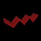 LACK Wandregal rot für die 3D Raumplanung