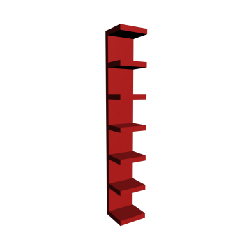 LACK Wandregal rot von IKEA