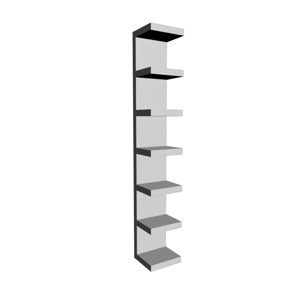 Wandregal ikea  LACK Wall shelf white - Design and Decorate Your Room in 3D
