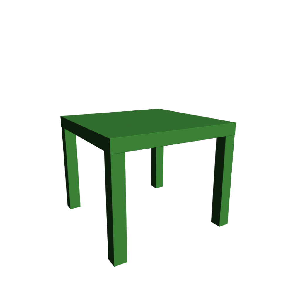 Lack side table design and decorate your room in 3d for Ikea green side table