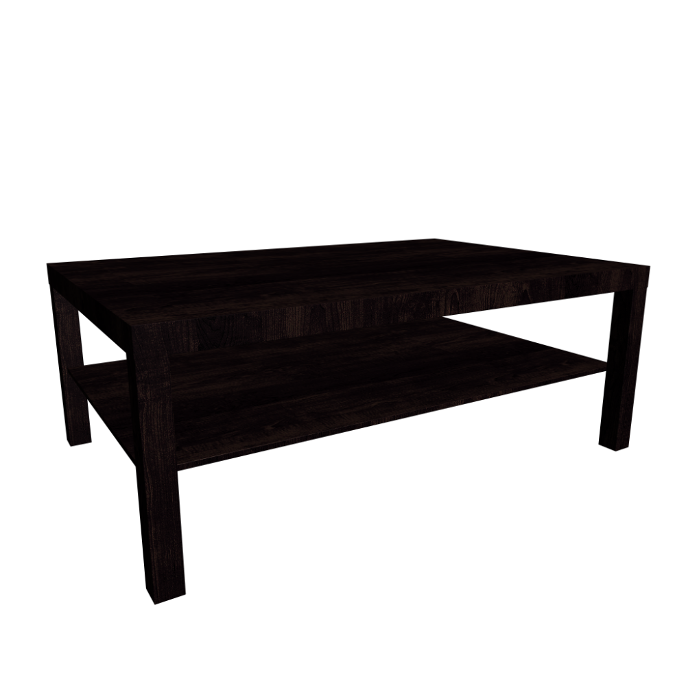 Lack Coffee Table Black Brown Design And Decorate Your Room In 3d