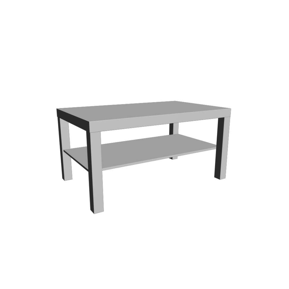 Lack coffee table white design and decorate your room in 3d for Table en pin ikea
