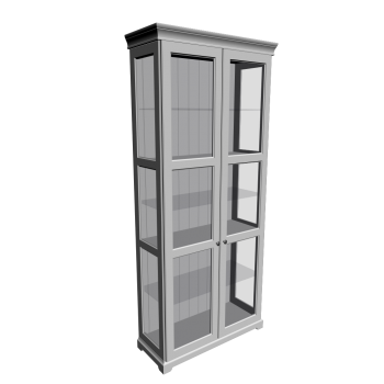 liatorp display cabinet design and decorate your room in 3d. Black Bedroom Furniture Sets. Home Design Ideas