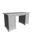 LIATORP Desk, white by IKEA