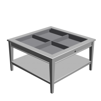 liatorp coffee table white glass design and decorate your room in 3d. Black Bedroom Furniture Sets. Home Design Ideas