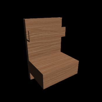 malm ablagetisch in eiche einrichten planen in 3d. Black Bedroom Furniture Sets. Home Design Ideas