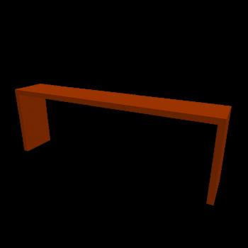 MALM Ablagetisch orange von IKEA