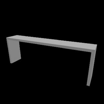 MALM Ablagetisch weiß von IKEA
