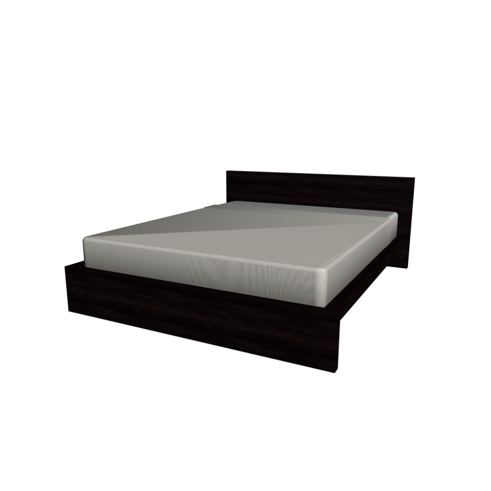 Malm bed frame 160x200cm design and decorate your room in 3d for Ikea malm bett 140x200 anleitung