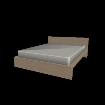 MALM Bett 160x200cm Birkenfurnier von IKEA