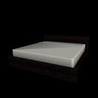 MALM Bettgestell 180x200cm schwarzbraun für die 3D Raumplanung