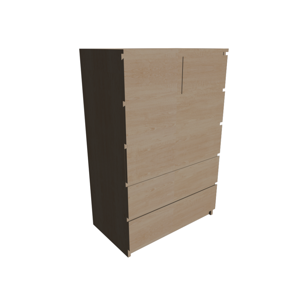 Malm 6 Drawer Chest Design And Decorate Your Room In 3d