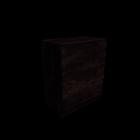 MALM Kommode mit 4 Schubladen schwarzbraun für die 3D Raumplanung