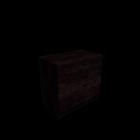 MALM Kommode mit 3 Schubladen Eiche schwarzbraun für die 3D Raumplanung