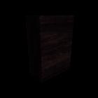 MALM Kommode mit 6 Schubladen schwarzbraun für die 3D Raumplanung