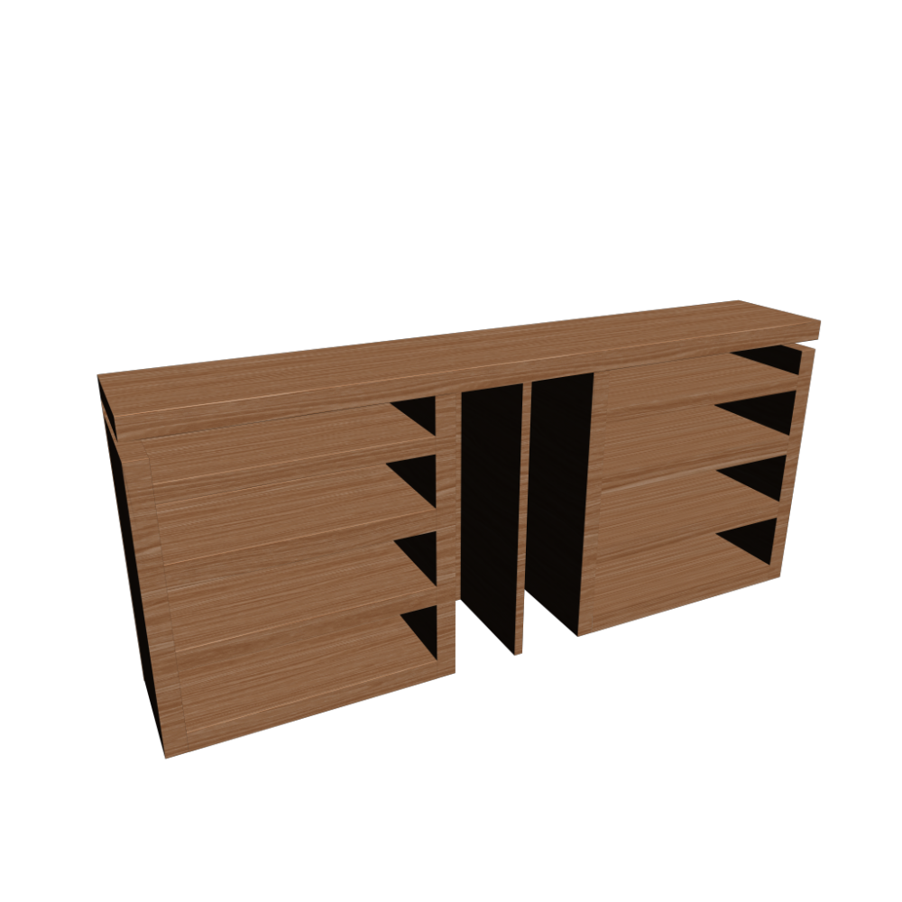 malm kopfteil ablagen 3 tlg eichenfurnier einrichten. Black Bedroom Furniture Sets. Home Design Ideas