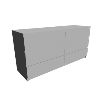 MALM Kommode mit 6 Schubladen von IKEA