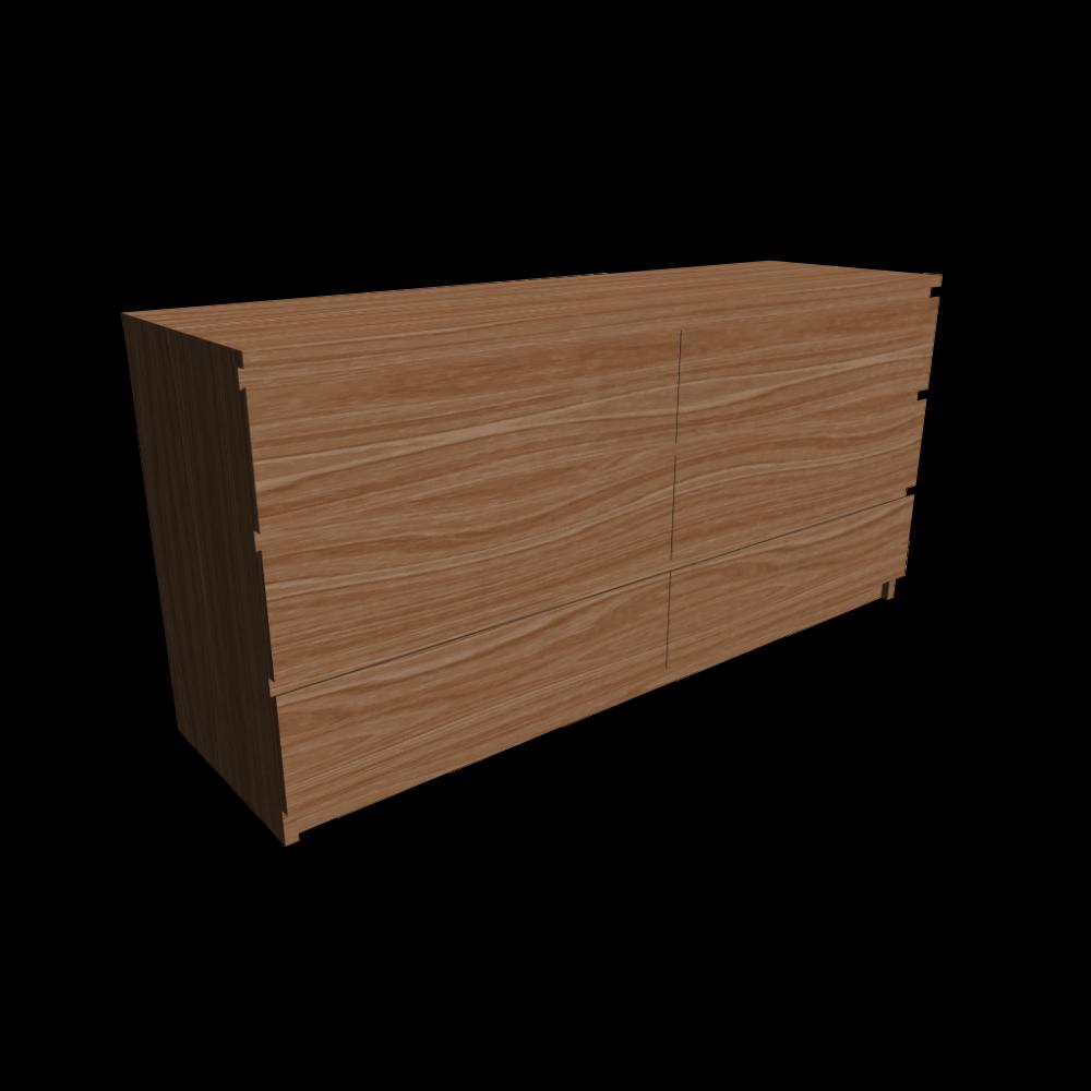 malm kommode mit 6 schubladen einrichten planen in 3d. Black Bedroom Furniture Sets. Home Design Ideas