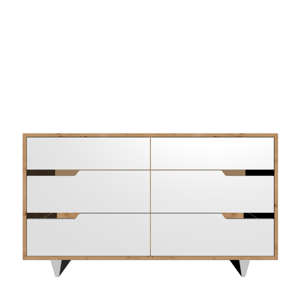 Flächenvorhang Raumteiler Ikea ~ MANDAL 6 drawer dresser, birch, white  Design and Decorate Your Room