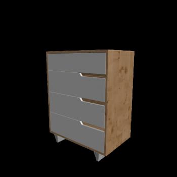 MANDAL Kommode mit 4 Schubladen von IKEA