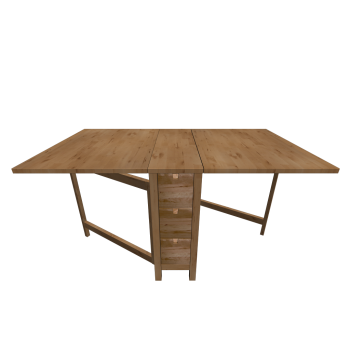 Norden gateleg table birch design and decorate your - Table d exterieur ikea ...