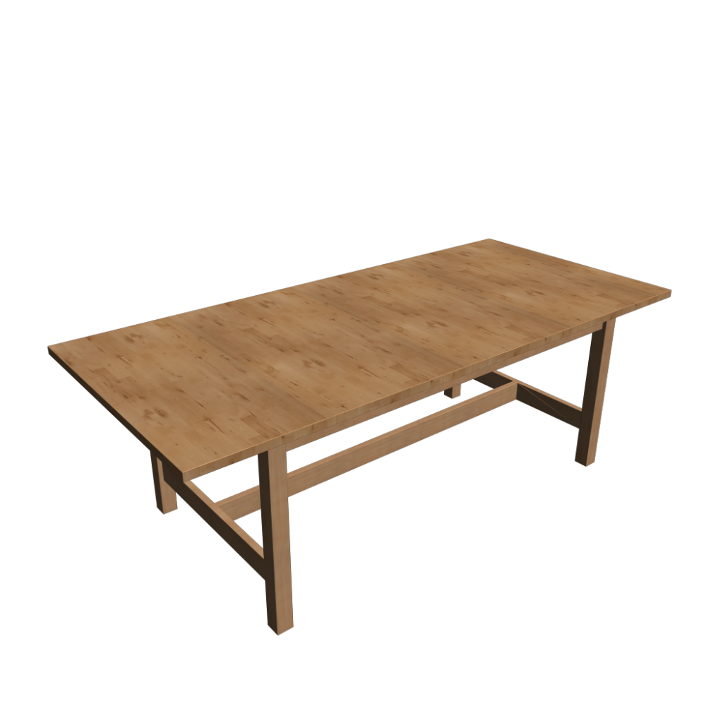 Norden extendable table birch design and decorate your for Table de norden ikea