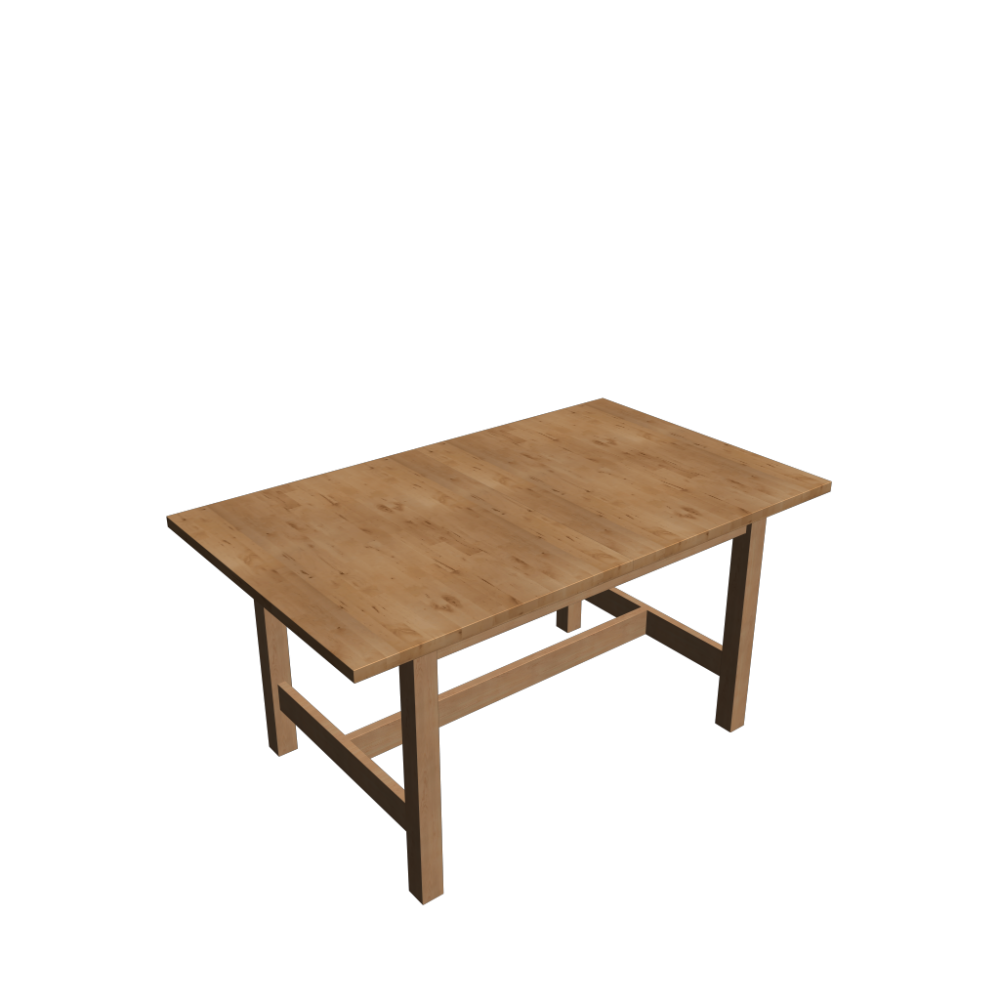 Norden extendable table birch design and decorate your for Table en pin ikea