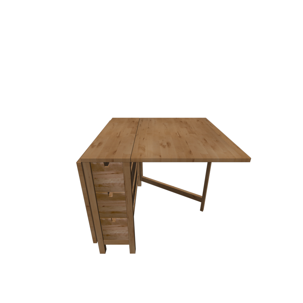 Norden Gateleg Table Norden Gateleg Table Birch Design And Decorate Your Room In 3d