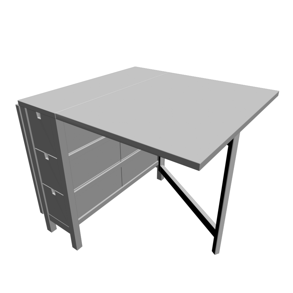 Norden Gateleg Table Norden Gateleg Table White Design And Decorate Your Room In 3d