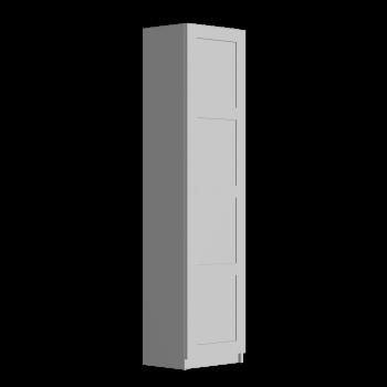 PAX Kleiderschrank mit Tür, weiß, Bergsbo weiß von IKEA