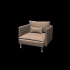 SÖDERHAMN Sessel von IKEA