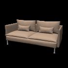 SÖDERHAMN Three-seat sofa by IKEA