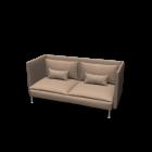 SÖDERHAMN Three-seat sofa, high back by IKEA
