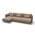 SÖDERHAMN Sofa and chaise lounge by IKEA