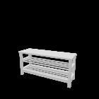 TJUSIG Bank mit Schuhablage von IKEA