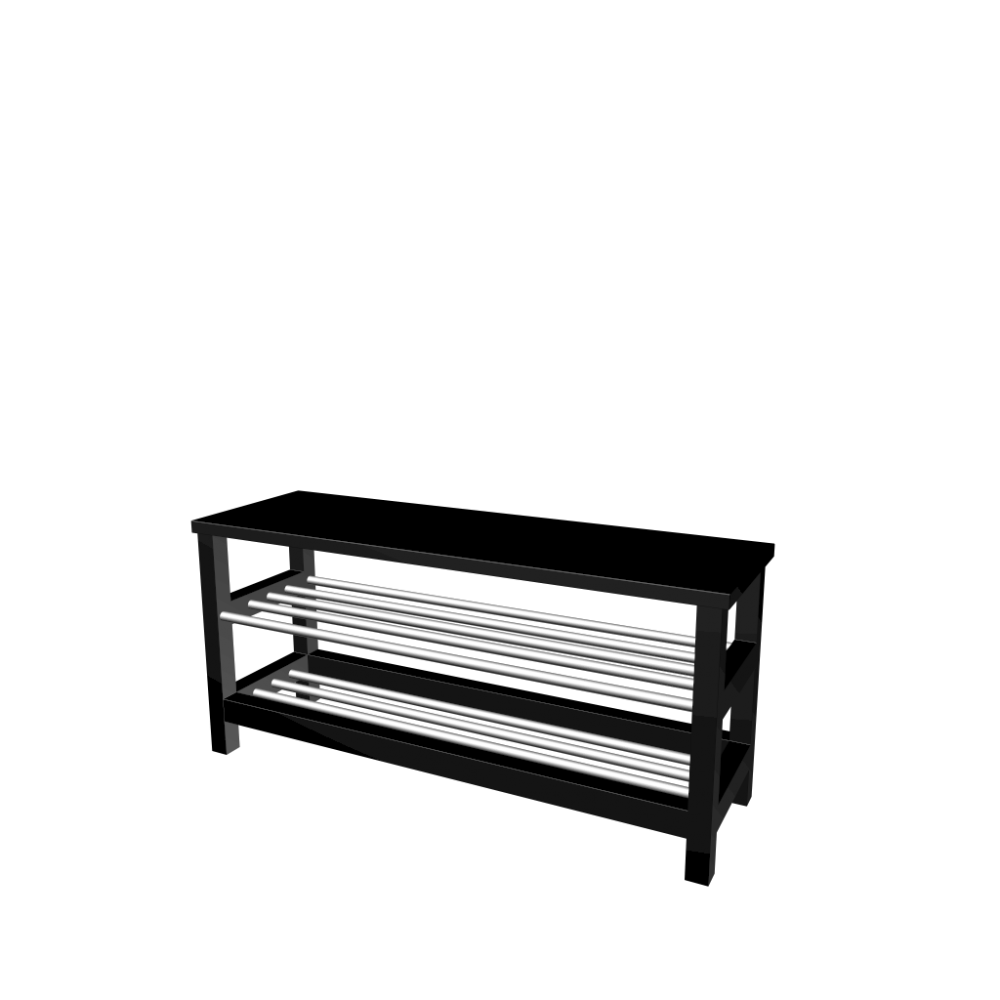 Tjusig Bench With Shoe Storage Design And Decorate Your