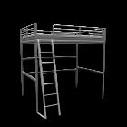TROMSÖ Loft bed frame for your 3d room design