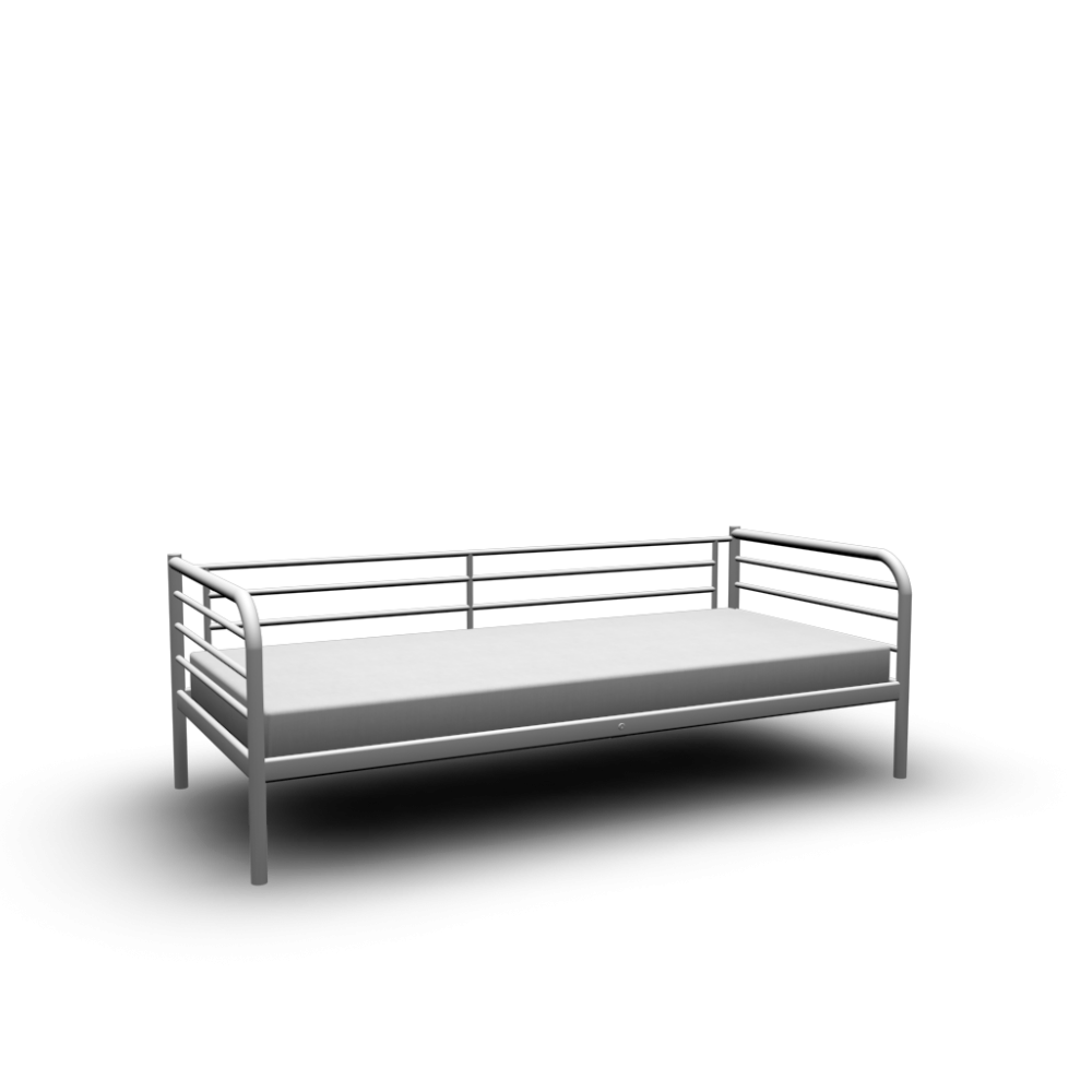 ikea white metal daybed frame. Black Bedroom Furniture Sets. Home Design Ideas