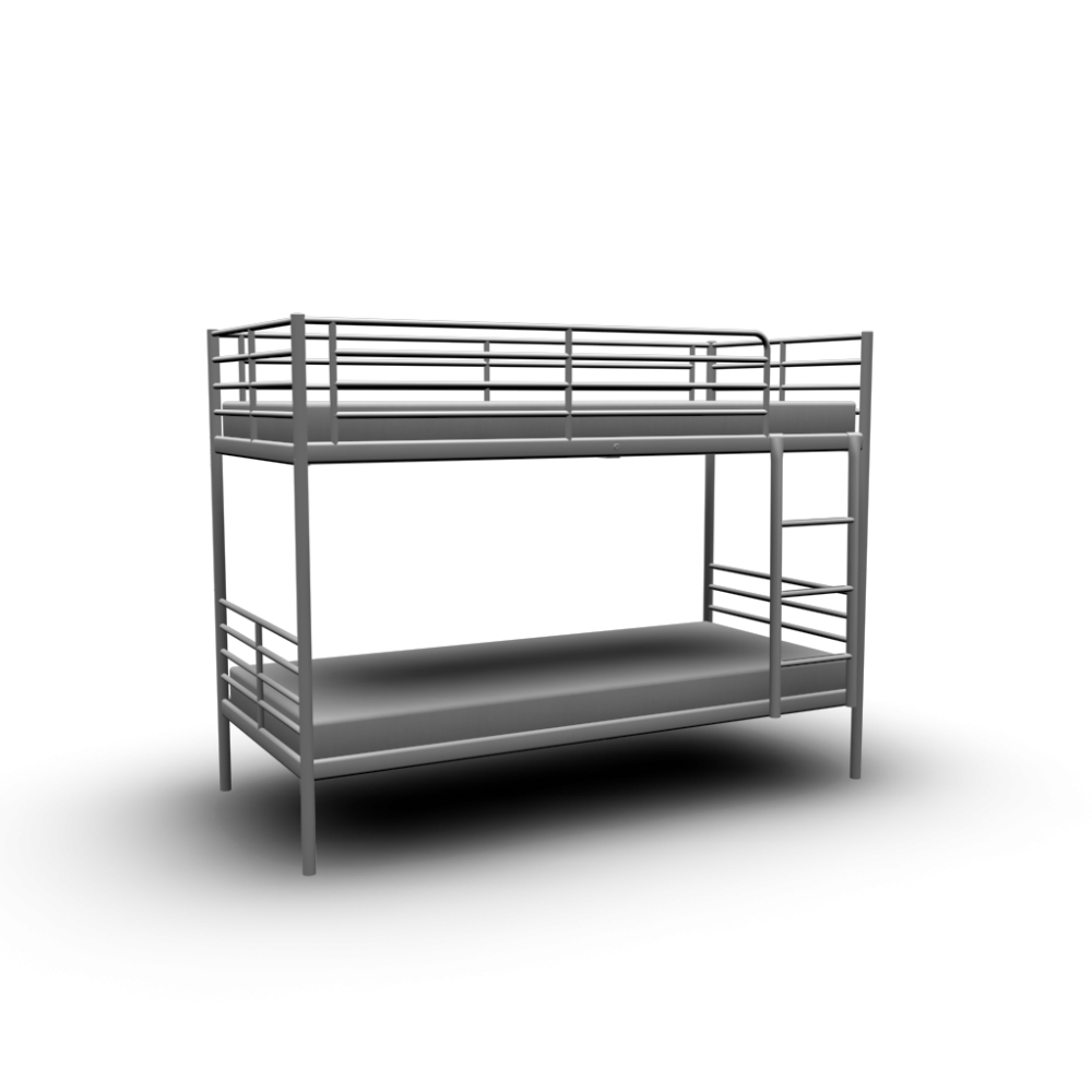 Tromso Bunk Bed Frame Design And Decorate Your Room In 3d