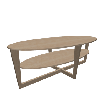 vejmon coffee table birch veneer design and decorate your room in 3d. Black Bedroom Furniture Sets. Home Design Ideas