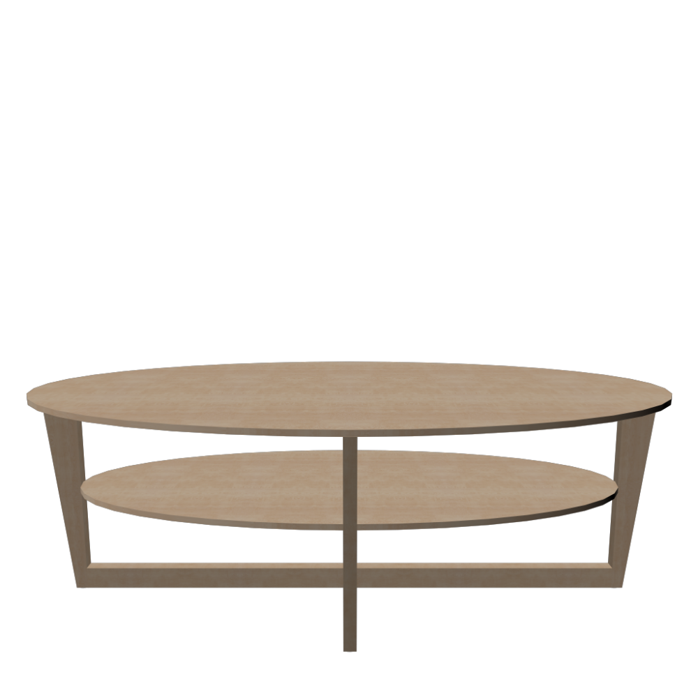 VEJMON Coffee Table Birch Veneer Design And Decorate